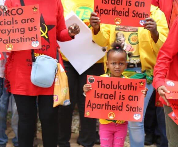Pretoria, South Africa, November 28, 2017. (Photo: BDS South Africa)