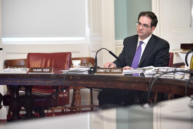 Kalman Yeger. (Photo: New York City Council)