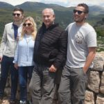 The Netanyahu family in the Golan Heights. (Photo: GPO)