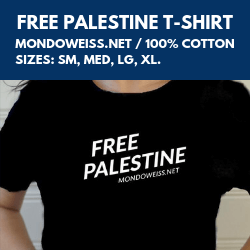 Mondoweiss's Free Palestine T-shirt