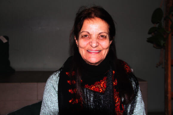 Rasmea Odeh in Berlin. (Photo: Dareen Tatour)