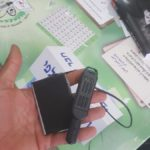 Secret cameras uncovered at polling stations in Palestinians towns in Israel. (Photo: Twitter)