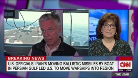 CNN's coverage of the Iranian threat on May 7, 2019