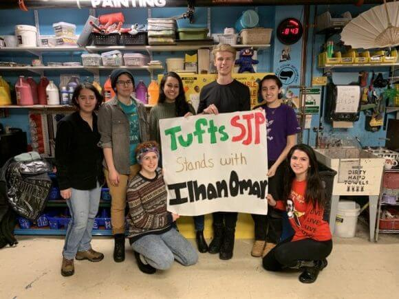 (Photo: Tufts SJP)