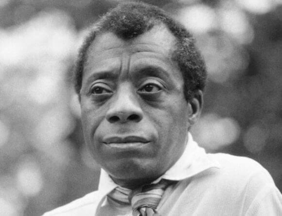 James Baldwin in Hyde Park, London, 1969 (Photo: Allan Warren/Wikimedia)