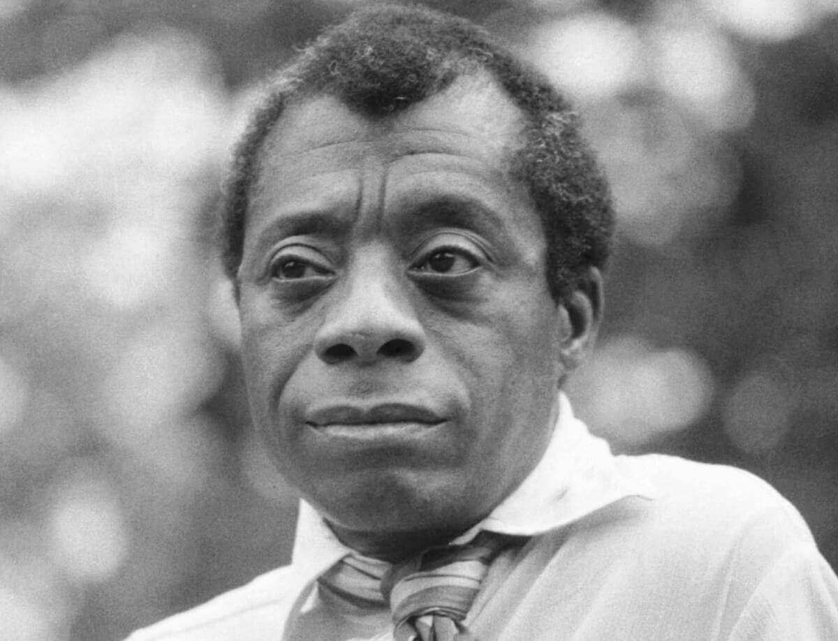 James Baldwin in Hyde Park, London, 1969 (Photo: Allan Warren/Wikimedia)