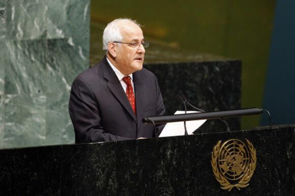 Ambassador Dr. Riyad Mansour