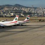 Airplanes at Beirut–Rafic Hariri International Airport. (Photo: Francisco Anzola/ Flickr)