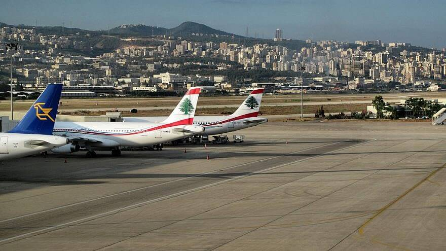 Airplanes at Beirut–Rafic Hariri International Airport. (Photo: Francisco Anzola/ Flickr)