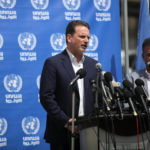 Commissioner-General of the UN Relief and Works Agency (UNRWA) Pierre Krahenbuhl speaks during a press conference, in Gaza city on May 23, 2019. (Photo: Mahmoud Ajjour/APA Images)