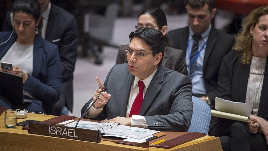 Israeli Ambassador to the United Nations Danny Danon addresses the U.N. Security Council. (Photo: U.N. Photo/Loey Felipe)