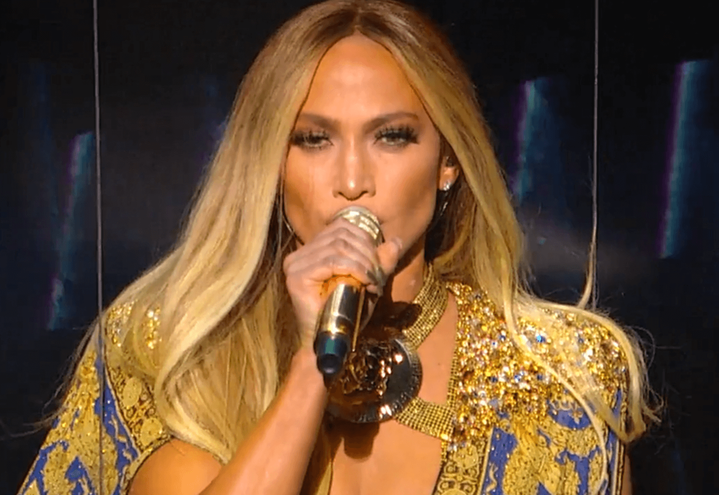 Jennifer Lopez performing in August, 2018. (Photo: Wikimedia)