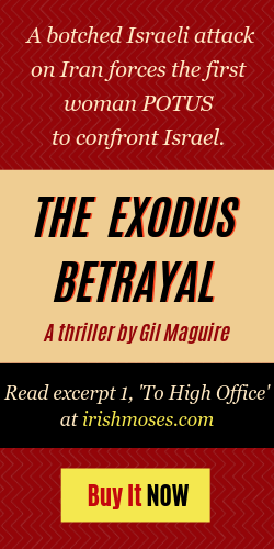 The Exodus Betrayal by Gil Maguire – Read an excerpt!