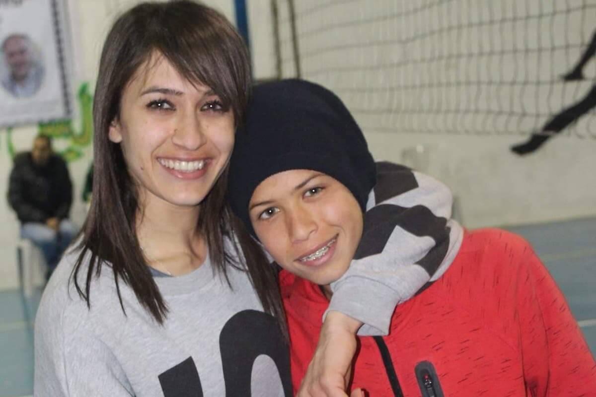 Amina Salah and her younger brother Mahmoud (Photo courtesy of Amina Salah)