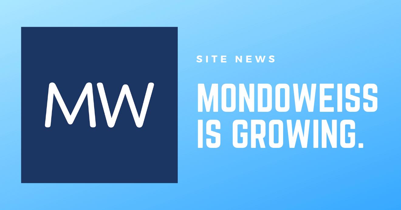 Mondoweiss is growing