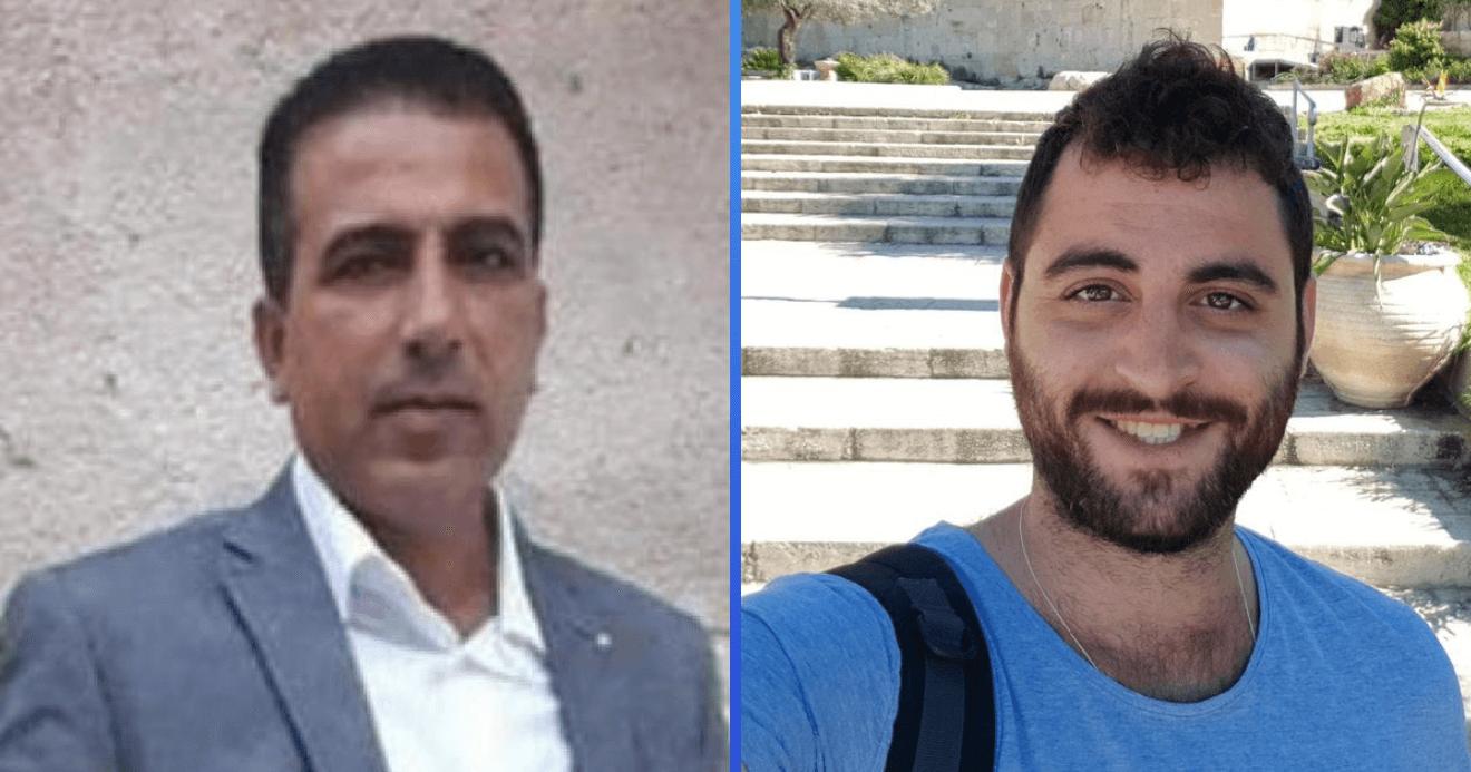 Mahmoud Qatusa (l) and Dean Issacharoff (r)