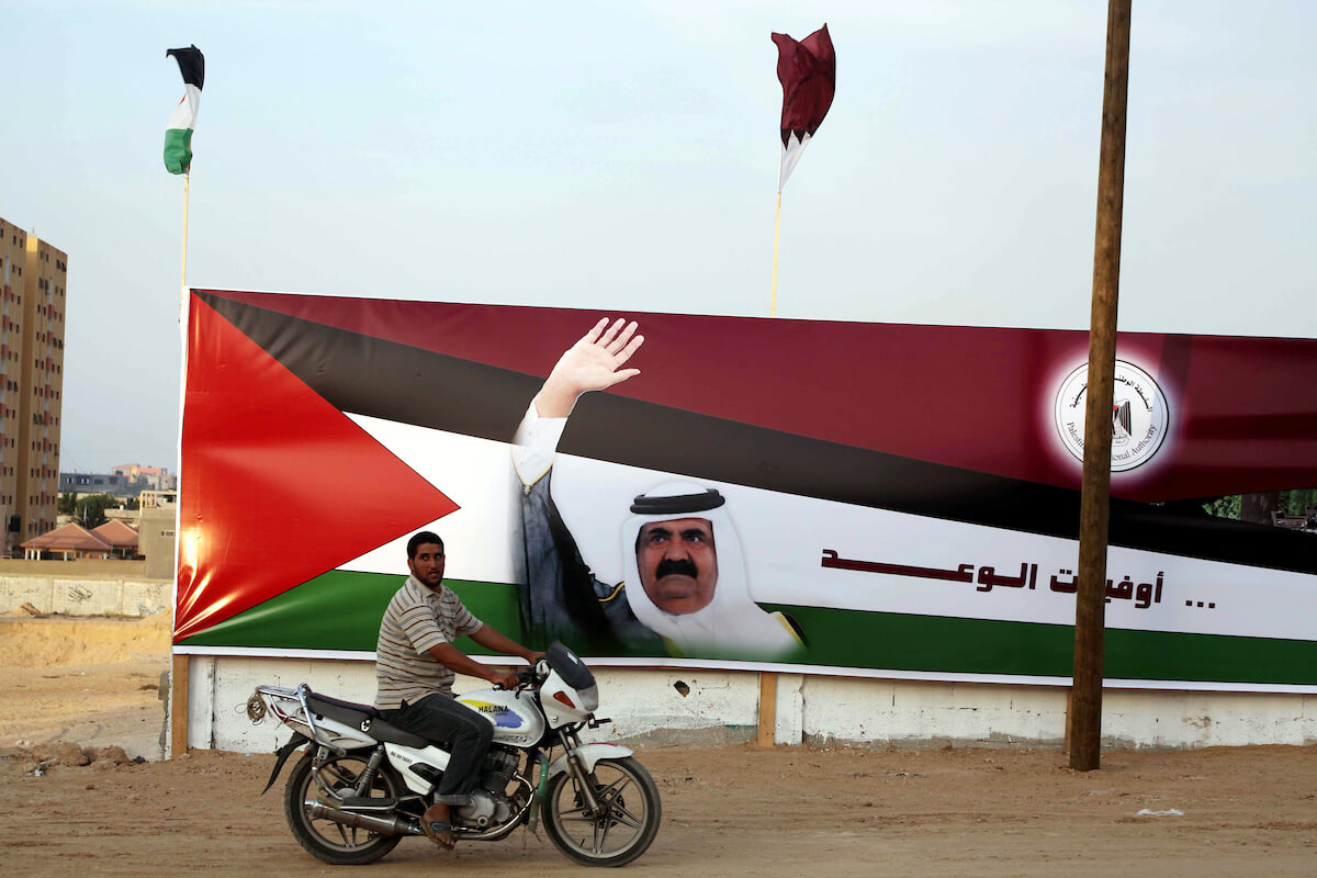 Qatar is becoming Gaza's only reliable donor, but the massive cash influx is still only a band-aid