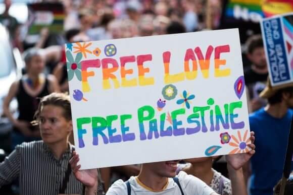 Berlin Radical Queer March, July 27, 2019, Berlin, Germany. (Photo: Facebook/Palästina Spricht)