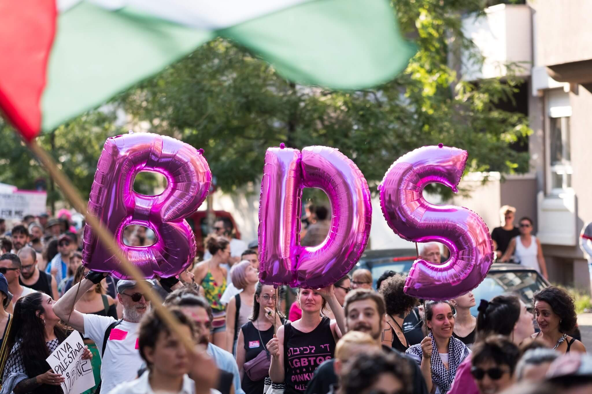 Berlin Radical Queer March, July 27, 2019, Berlin, Germany. (Photo: Facebook/Palästina Spricht)