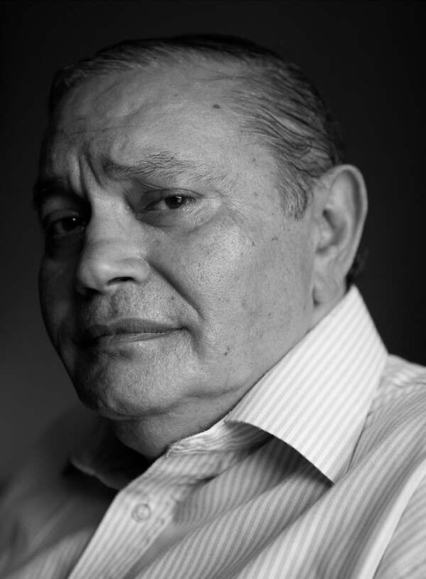 Co-founder of the Israeli Black Panthers, Kochavi Shemesh, born in 1944, Baghdad, Iraq. Photographed in Jerusalem in 2011, 90/120 cm by David Adika. (Photo: courtesy of David Adika)