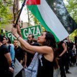 Olivia Katbi Smith is a leading activist for Palestine in Portland, Oregon. Photo: Bette Lee.