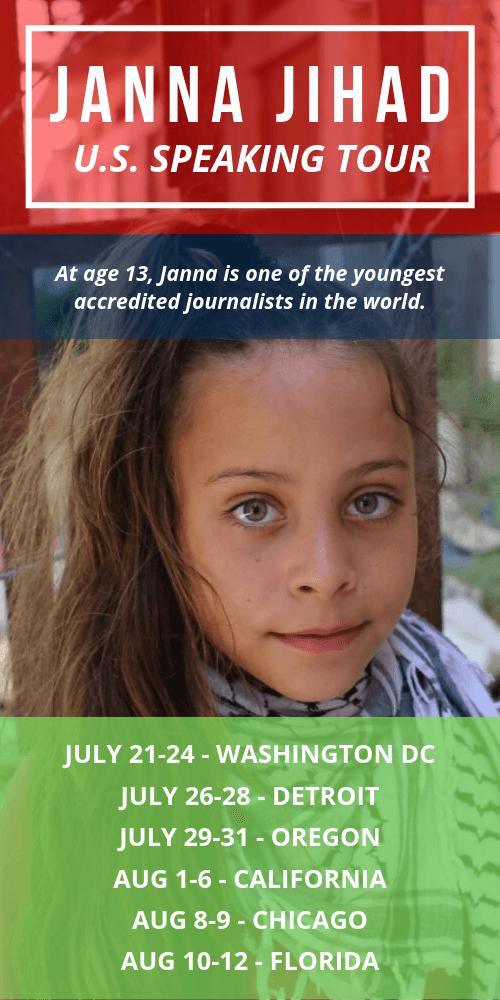 Janna Jihad - On tour across the United States!