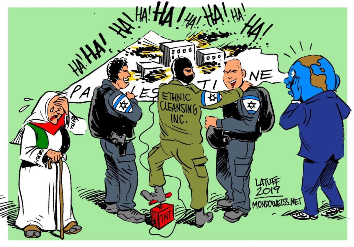Israelis celebrating the destruction of Palestine is nothing new