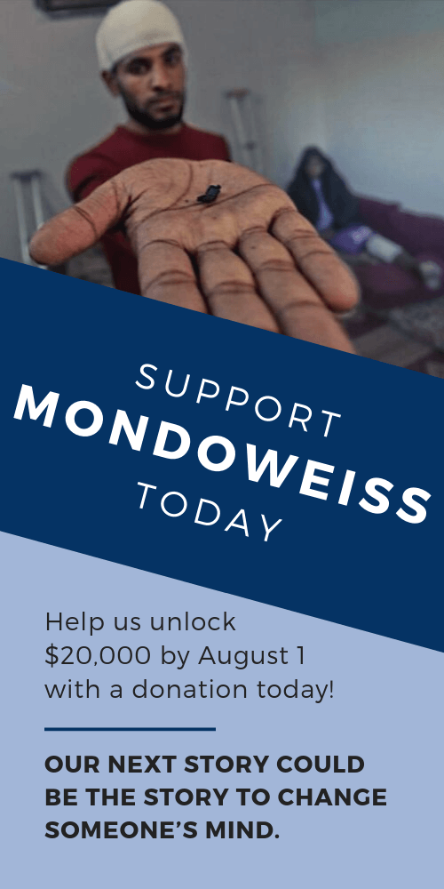 Support Mondoweiss today!