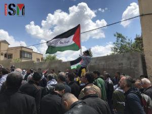 A demonstration in Kafr Qaddum in April 2010 (Photo: International Solidarity Movement)