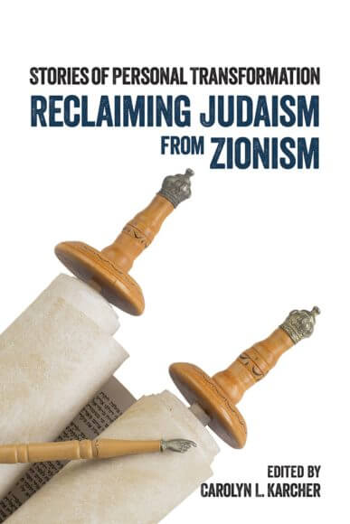 "Cover of ""Reclaiming Judaism from Zionism: Stories of Personal Transformation."" (Image: Olive Branch Press)"