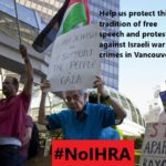 A graphic that was used as part of the social media campaign against the City of Vancouver adopting the IHRA definition of Anti-Semitism.