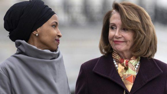 Rep. Ilhan Omar and House Speaker Nancy Pelosi (Photo: J. Scott Applewhite/AP Images)
