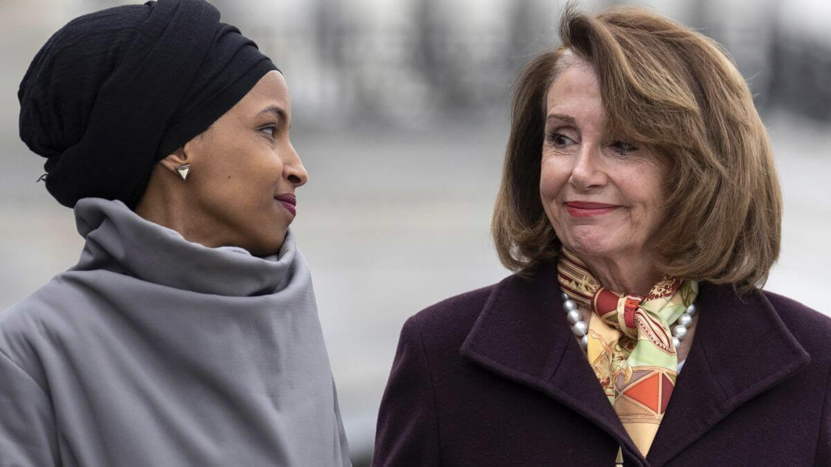 Rep. Ilhan Omar and House Speaker Nancy Pelosi (Photo: J. Scott Applewhite/AP Images)