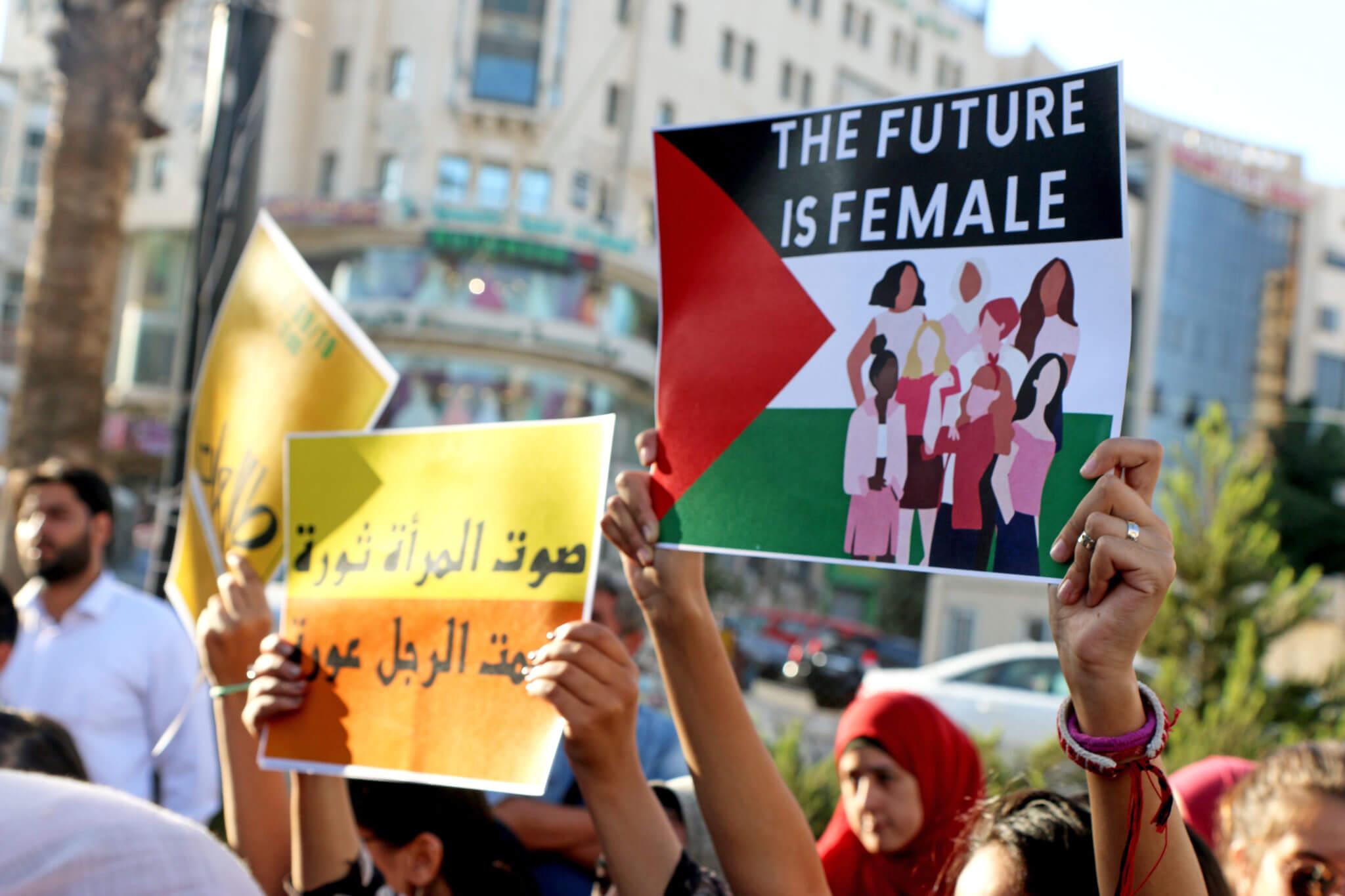 Ramallah city center, Sep 26, 2019. Photo by Ahmad Al-Bazz / Activestills.org