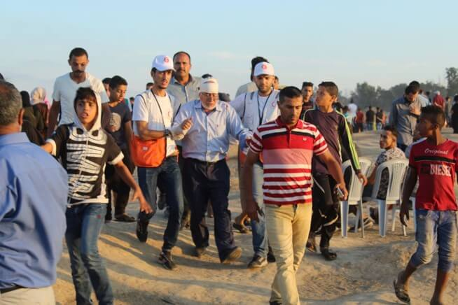 71 more Gaza protesters injured, 33 by live fire