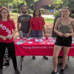 YDSA GT members tabling. (Photo: Twitter/YDSAGT)
