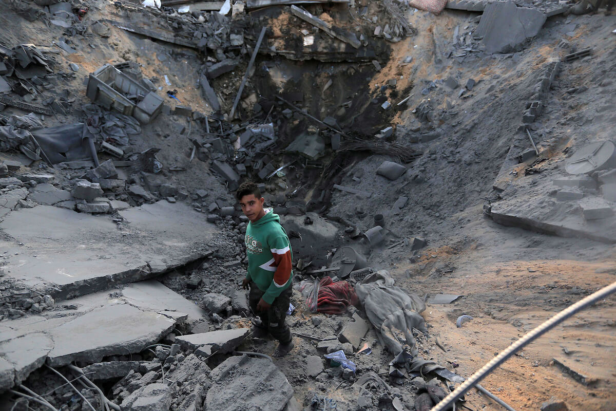 Any of us can be the next victim in Gaza