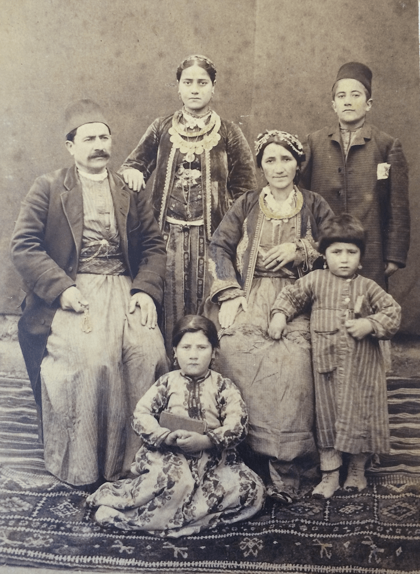 Sophia's mom side from Kharpert (Harput) whose Armenian community was almost entirely destroyed. The Turkish government today claims there were no Armenians there or if there were they were traitors and deserved death and displacement.
