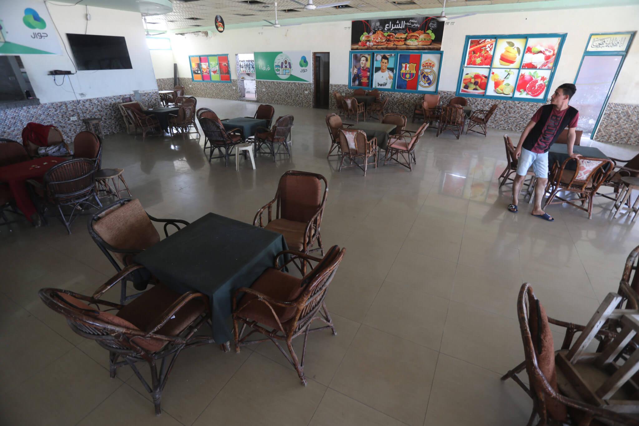 An empty coffee shop