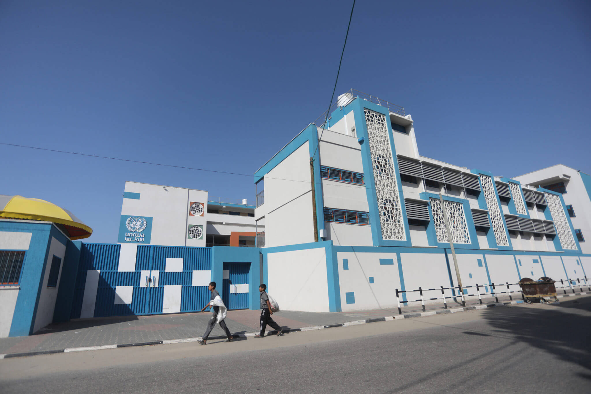 UNRWA has suspended its services and closed all Gaza Strip schools in conjunction with government schools