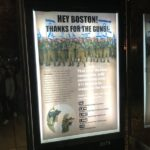 Ad place in Boston bus kiosk. By group calling itself Center for Accurate Reporting on Palestine.