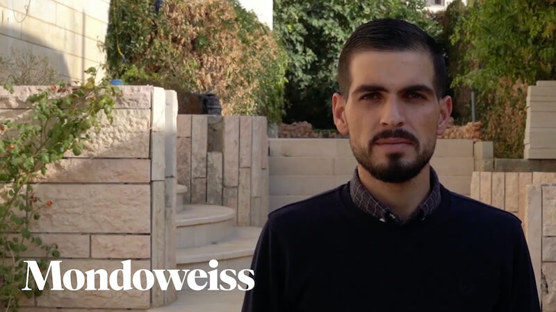 Karam Qawasmi recounts being shot by laughing Israeli soldiers