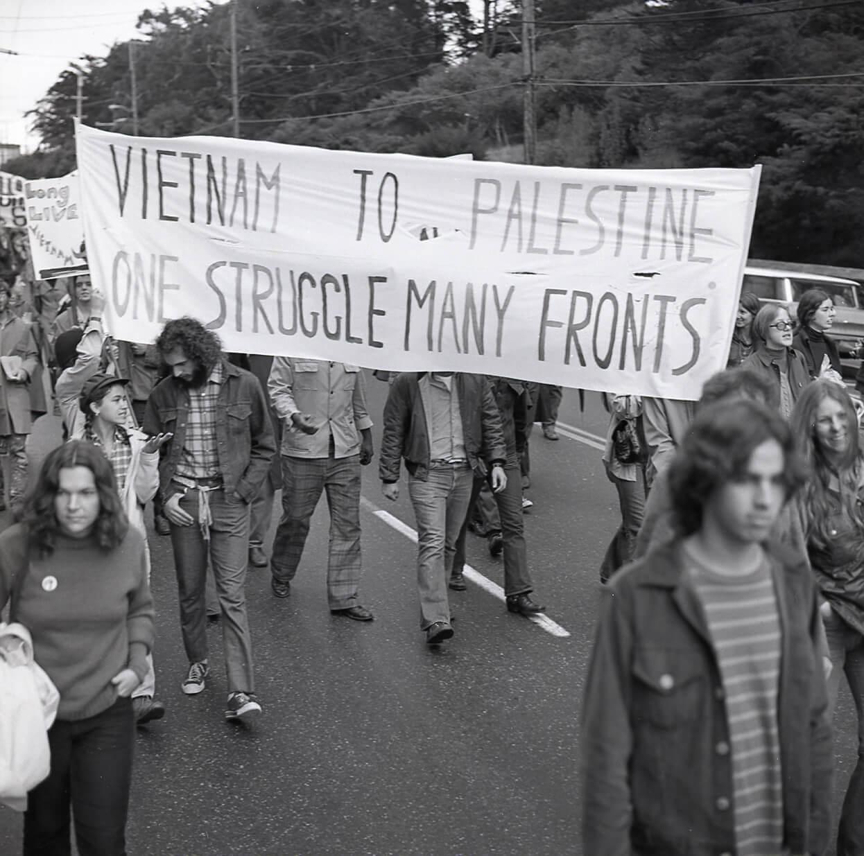 """Peace March,"" October 14, 1972, San Francisco, California. (Photo: Harvey Richards Media Archive)"