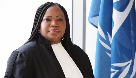 Prosecutor Fatou Bensouda, portrait at the International Criminal Court