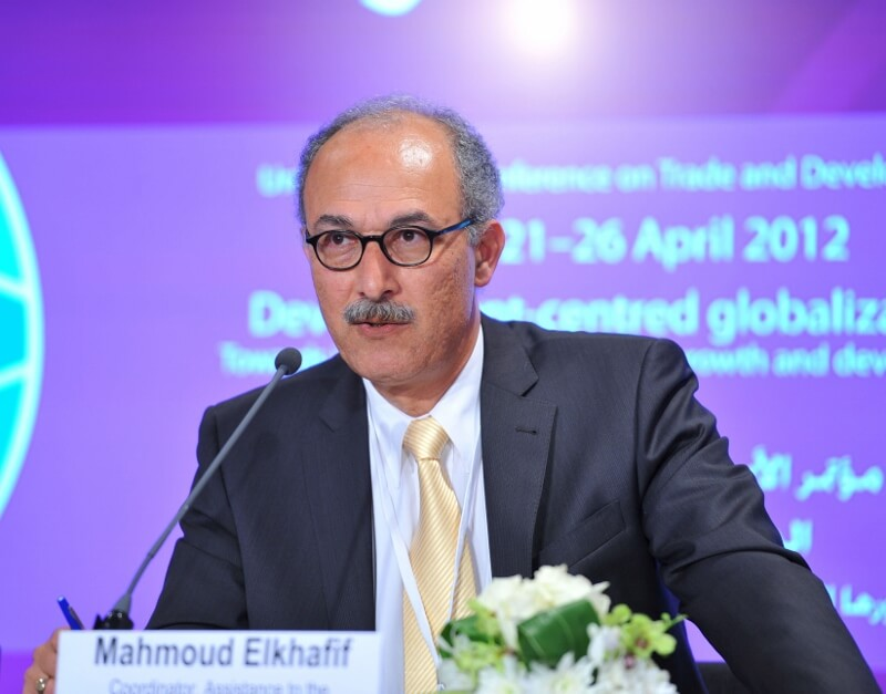 Mr. Mahmoud Elkhafif, Coordinator, Assistance to the Palestinian people, UNCTAD (Photo: Wikimedia)