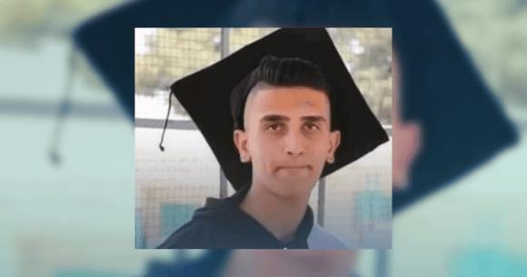 Badawi Khaled al-Masalma, 18, from IMEMC.