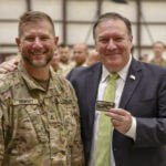 U.S. Secretary of State Michael R. Pompeo visits troops in Kabul, Afghanistan on July 9, 2018. (State Department photo/ Public Domain)