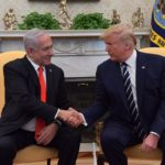 Donald Trump and Benjamin Netanyahu meet at the White House, January 27, 2020 (Photo: Twitter/@IsraeliPM)