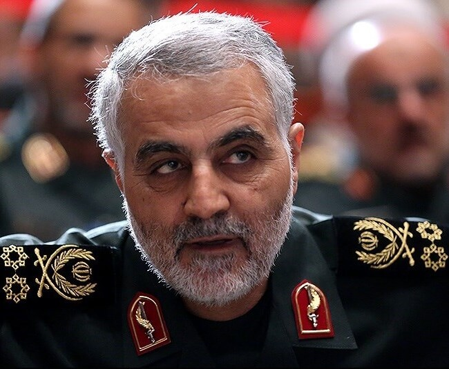 Qasem Soleimani, Commander of Quds Forces during National AGIR commanders conference, September 2013 (Photo: Tasnim News Agency/Wikimedia)