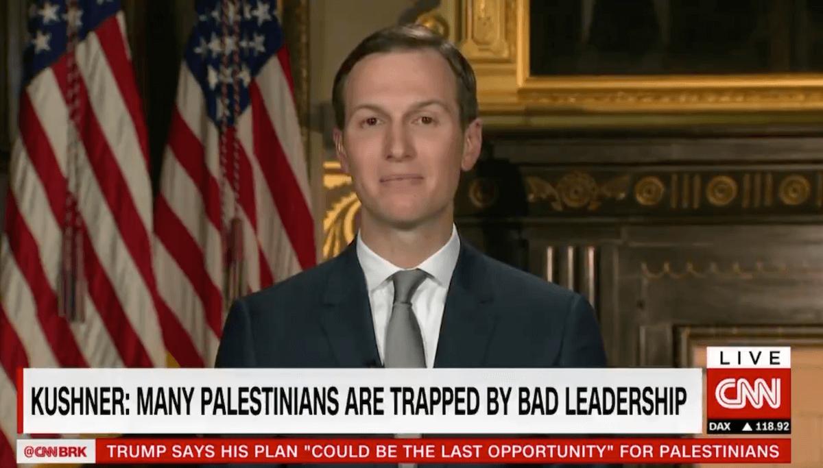 Jared Kushner promoting his plan on CNN